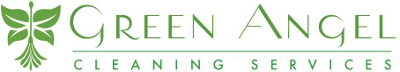 Green Angel Cleaning Logo